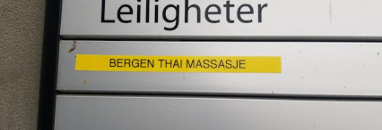 Bergen Thai massage